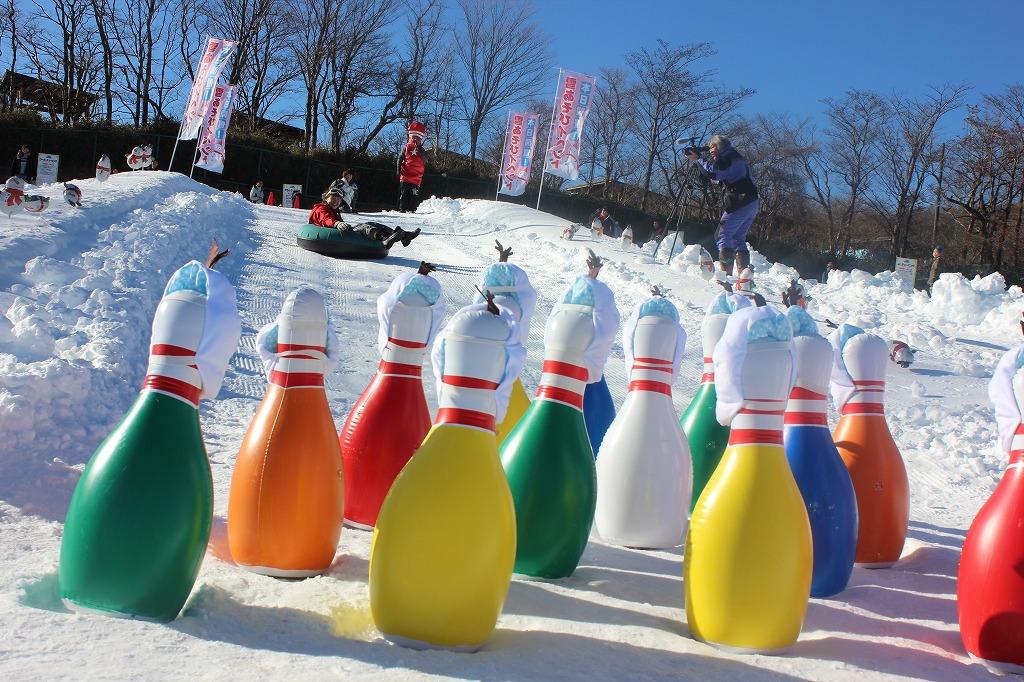 雪上ジャンボウリング大会