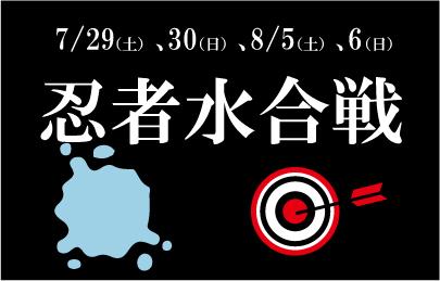 ◆◆忍者水合戦◆◆